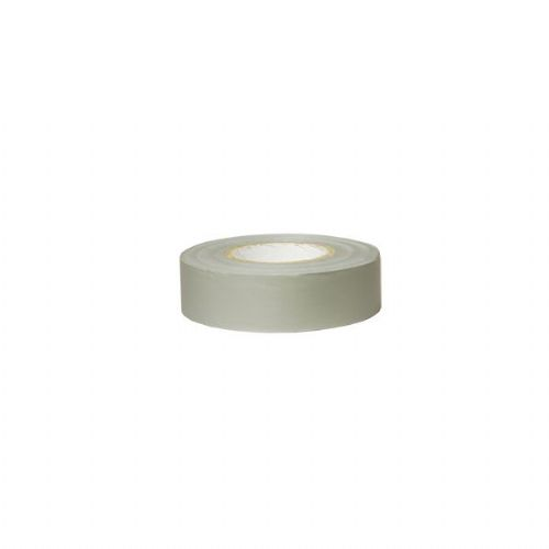 Grey PVC Adhesive Tape - 19mm x 5m-0-557-09